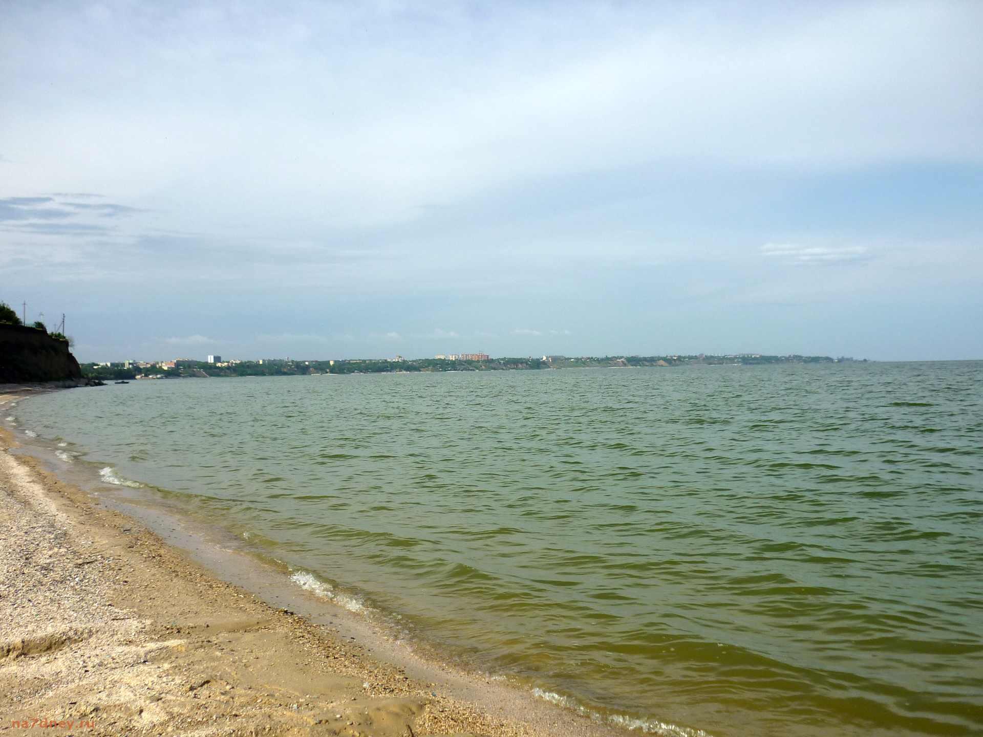 Пляж в Петрушино