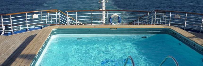 Вид на открытой палубе