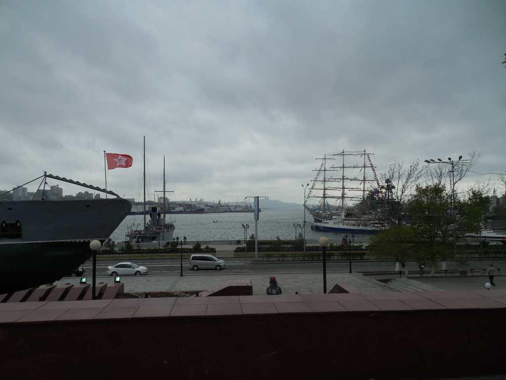 Вид на бухту Золотой рог