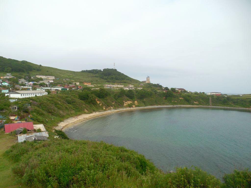 Пляж в селе Анна