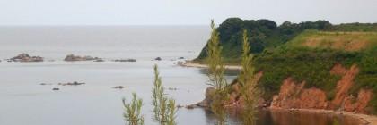 Вид на второй пляж