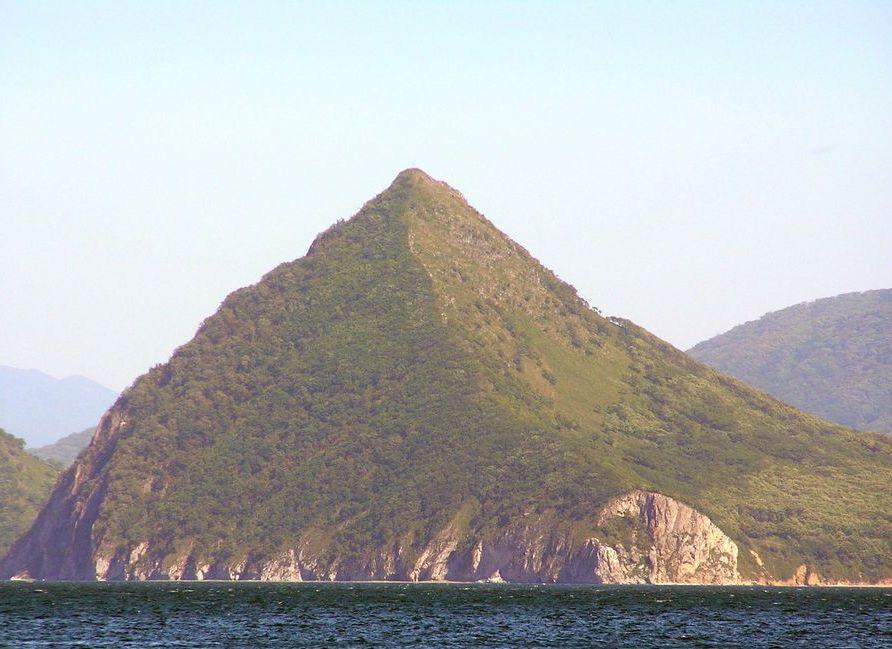 Гора Сестра вид с моря