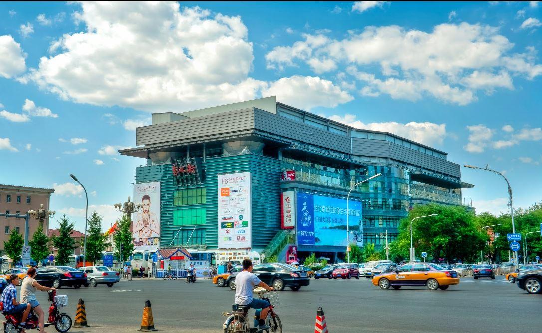 Шелковый рынок в Пекине