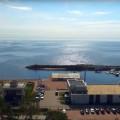 колесо обозрения в Зеленогорске, вид на яхт клуб «Терийоки»