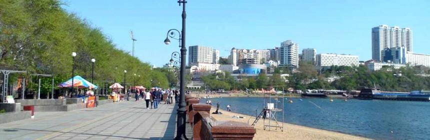 Владивосток спортивная набережная