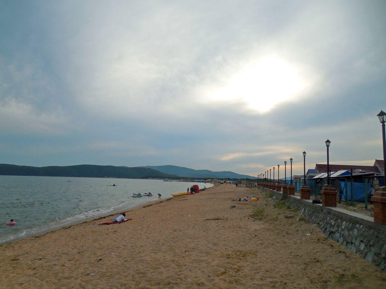 Второй пляж в Волчанце