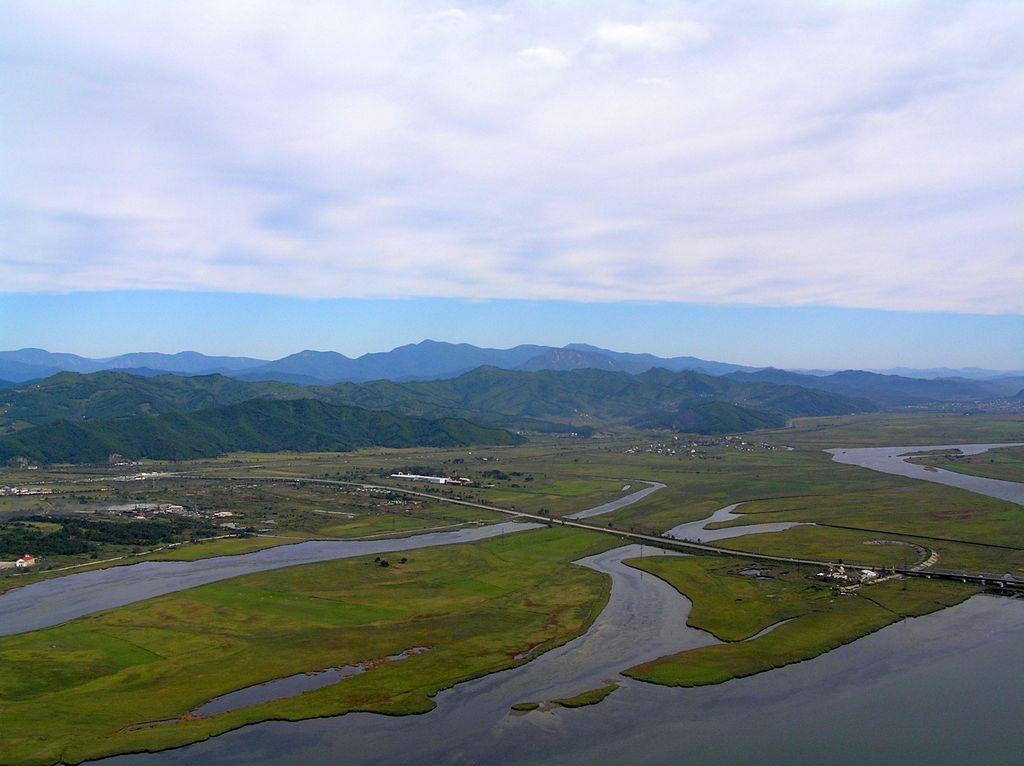 Устье реки Сучан