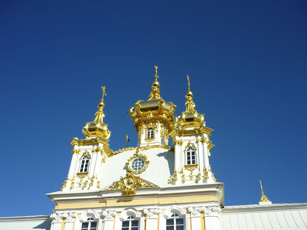 Купола Петродворца