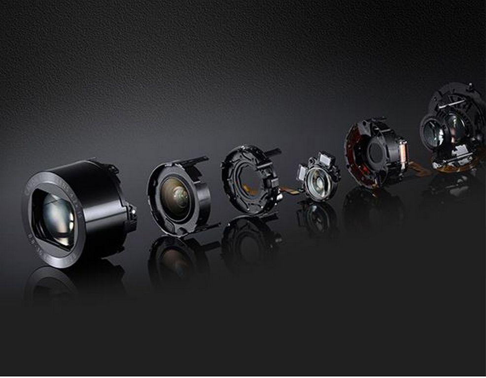 Оптический зум фотоаппарата