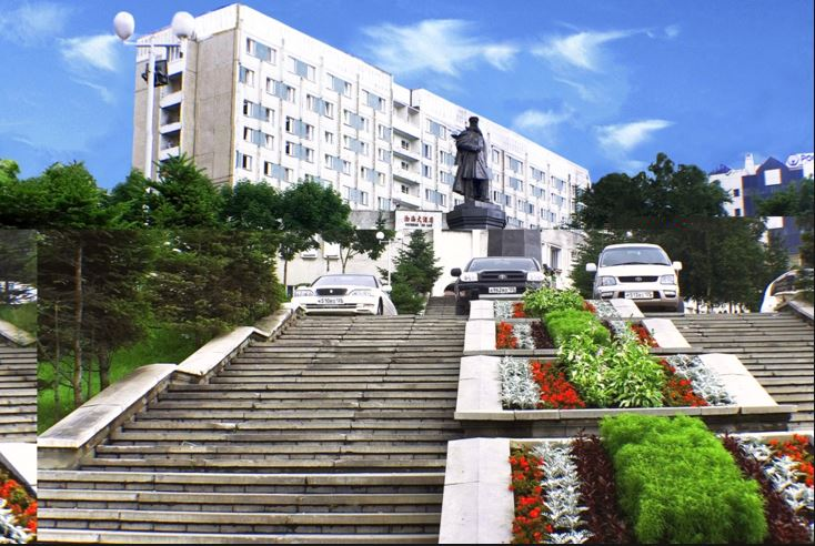 Гостиница Экватор Владивосток