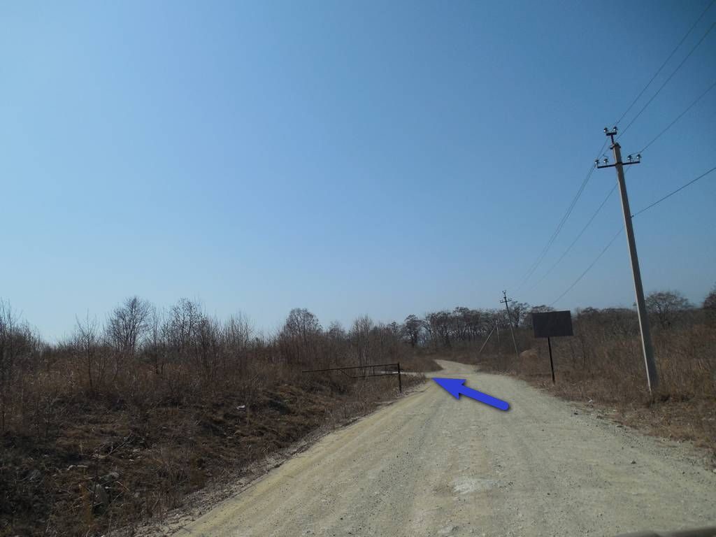 дорога до базы 38 Самураев в Находке