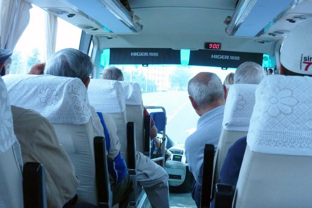 Автобус в Циндао
