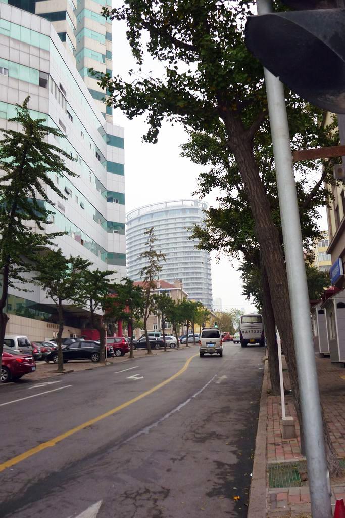 гостиница в центре Циндао
