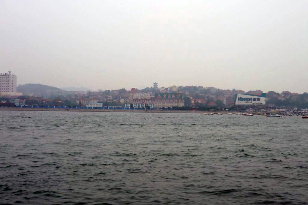 вид на старый район Циндао