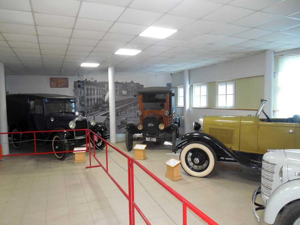 Ford-A, Ford-T, ГАЗ-А в музее Владивостока