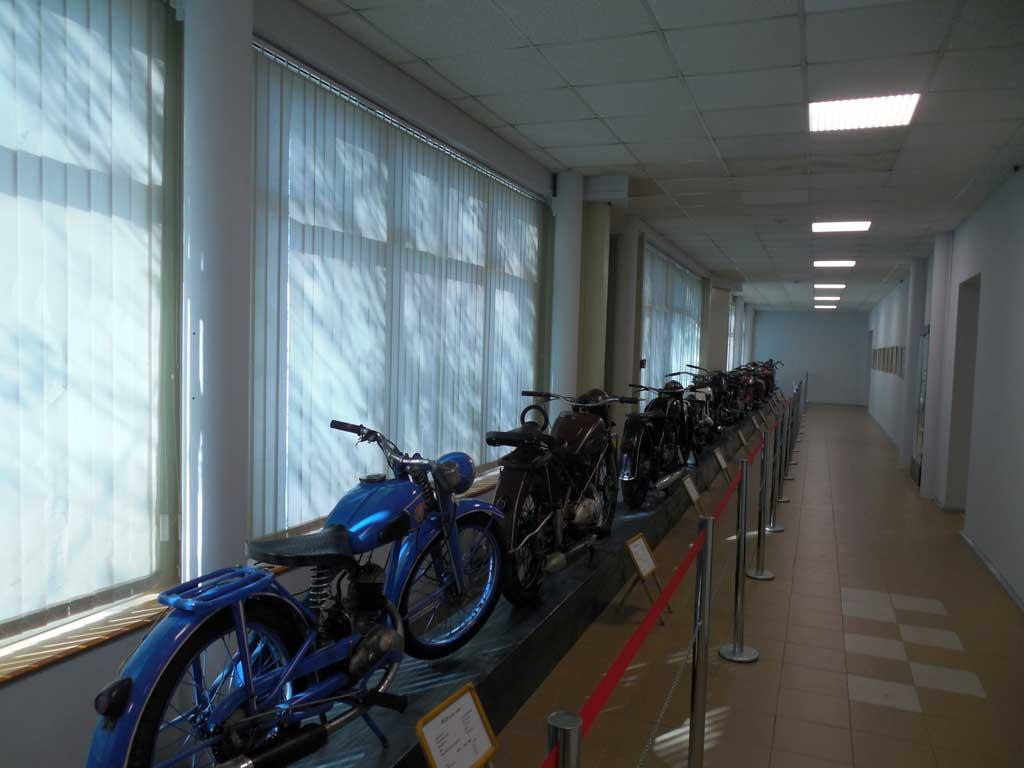 ретро мотоциклы в музее Владивостока