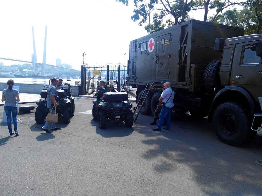 Армия 2016 во Владивостоке. Армейские квадроциклы.