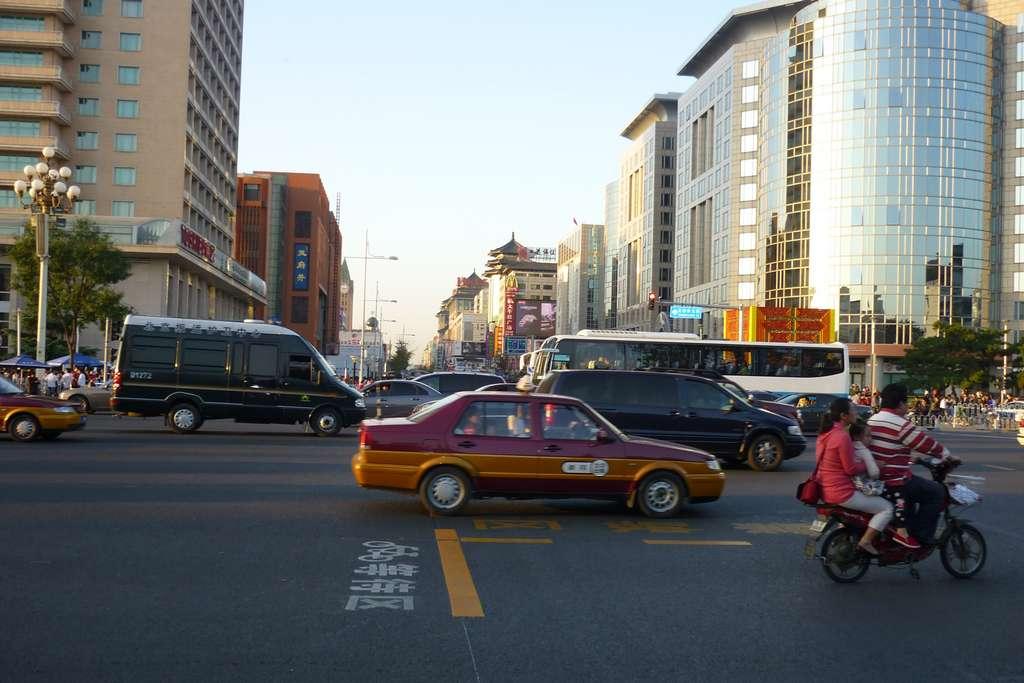 вход на улицу Ванфуцзинь