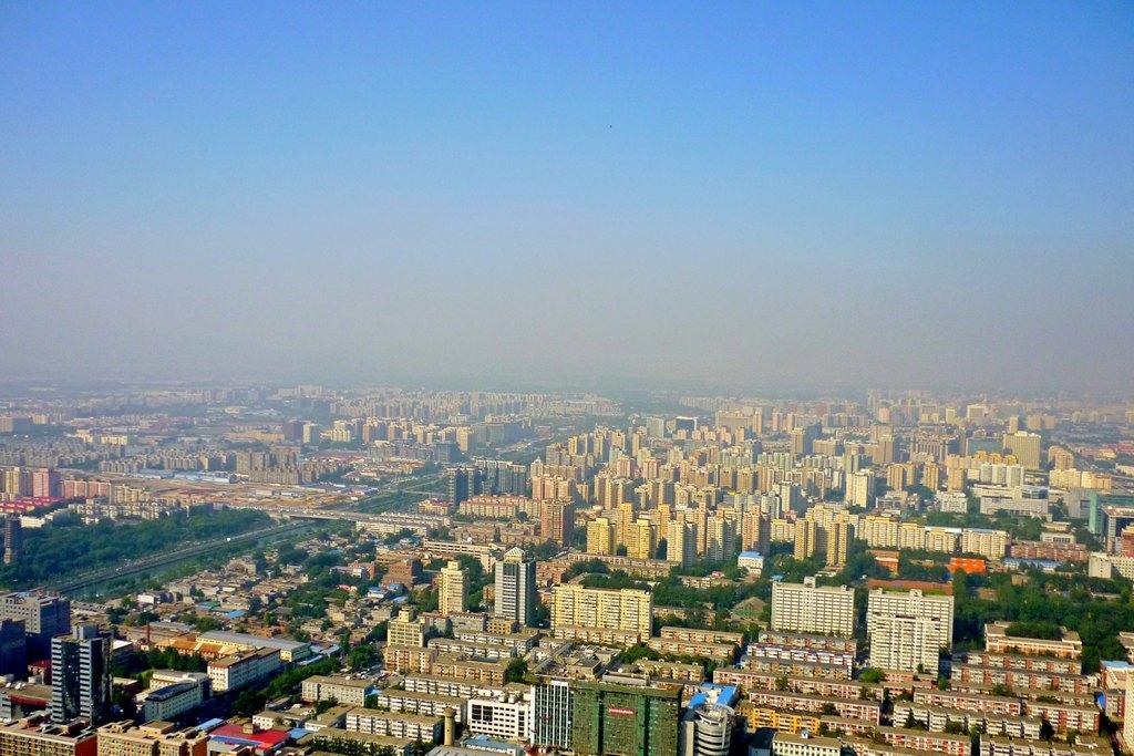 Виды на Пекин с телебашни